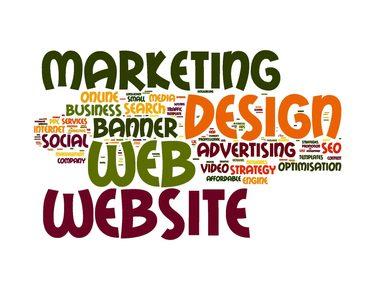Online marketing keywords: website design, seo...