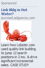 Facebook PPC - SEO Advert