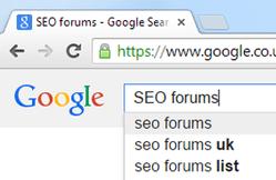 SEO forums