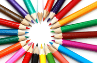 Image of coloured pencils