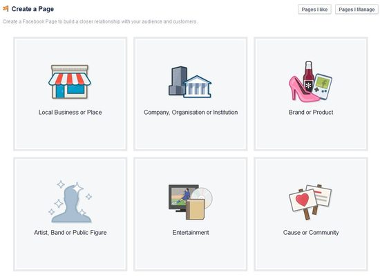 Facebook Business Page Setup Stage 1