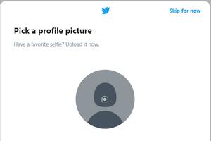 Add your profile picture.