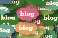 Image of blog clouds