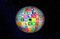 Social Media Icons Ball