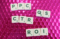 PPC acronyms made from Scrabble letters