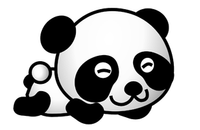 Image of cartoon panda