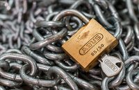 Image of padlock and chain