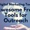 free digital marketing tools for outreach