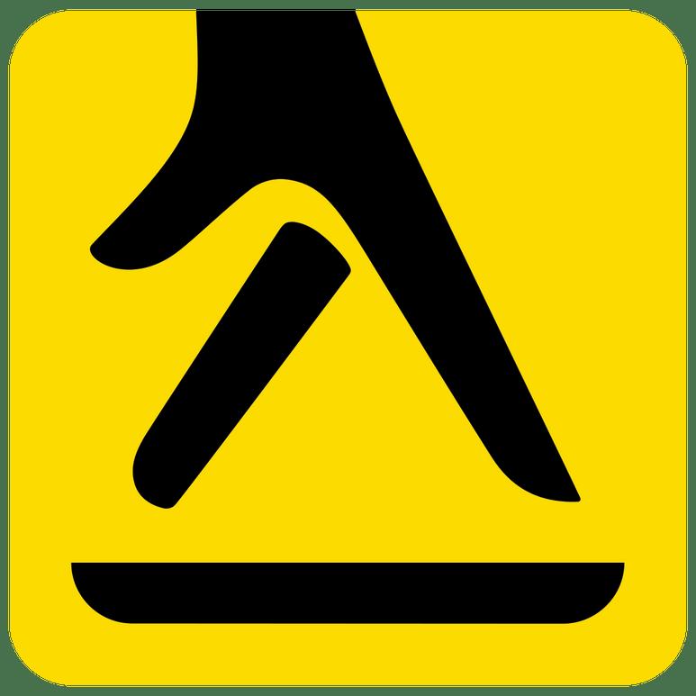 Yell Logo - Walking Fingers