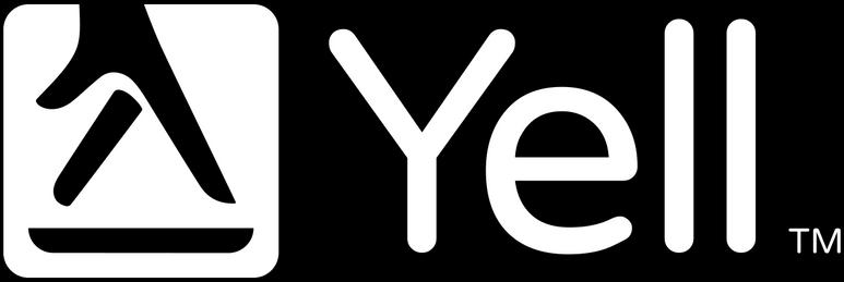 Yell Logo White - Main Logo