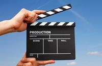 Image of video clapper board