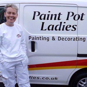 Paint Pot Ladies