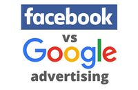 Facebook versus Google advertising