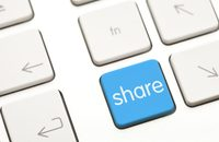 Image of Share button on computer keyboard