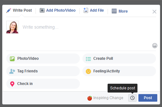 Facebook Group Post Scheduling