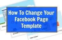 How To Change Your Facebook Page Template