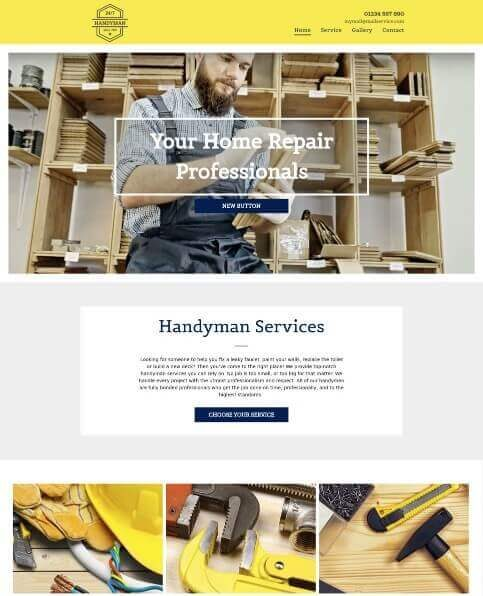 HANDYMAN desktop template