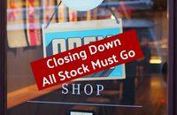 High Street Store Closing Down