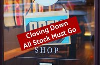 High Street Store Closing Down