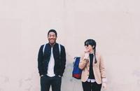 Young couple sharing a joke
