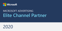 Microsoft Ads Elite Channel Partner badge