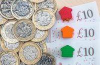 Photo of pound coins and notes