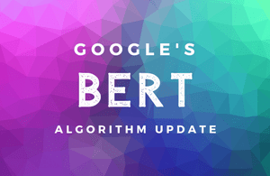 Google's BERT algorithm update