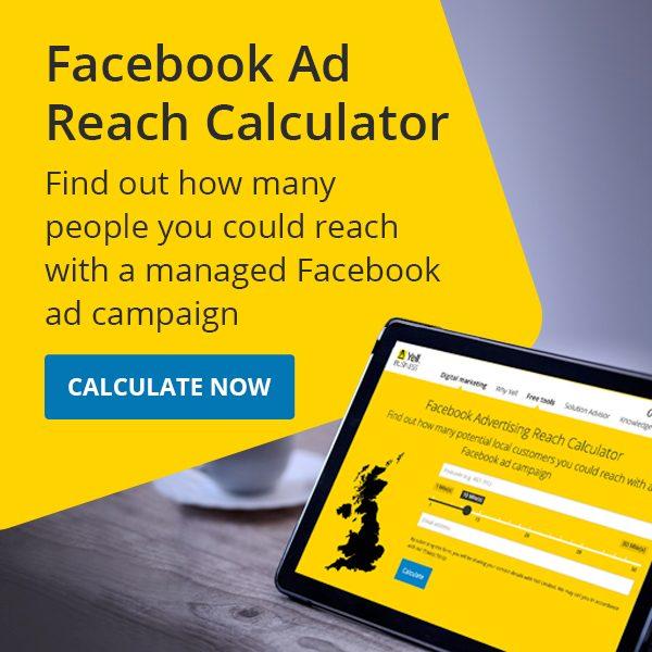 Facebook awareness tool banner