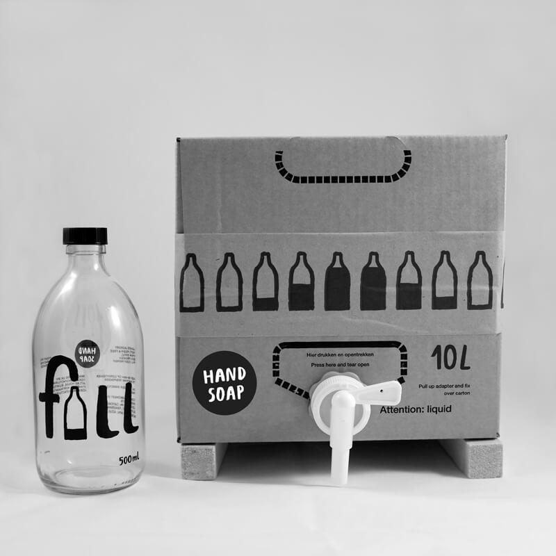 Fill hand soap from Wearth