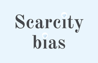 Using scarcity bias in marketing for small businesses
