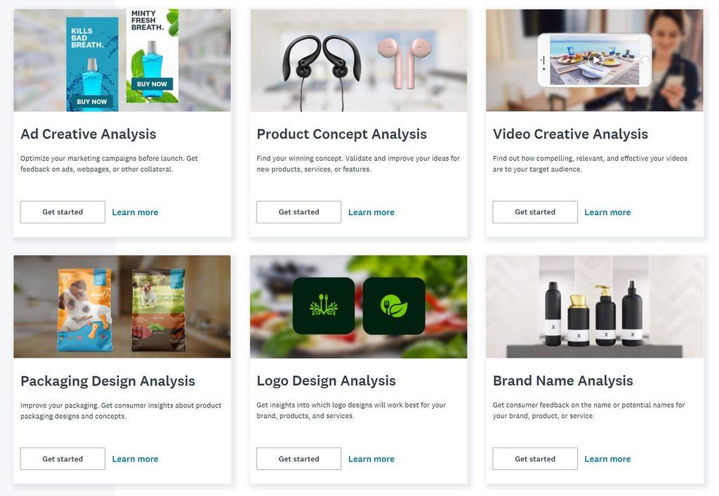 SurveyMonkey market research formats