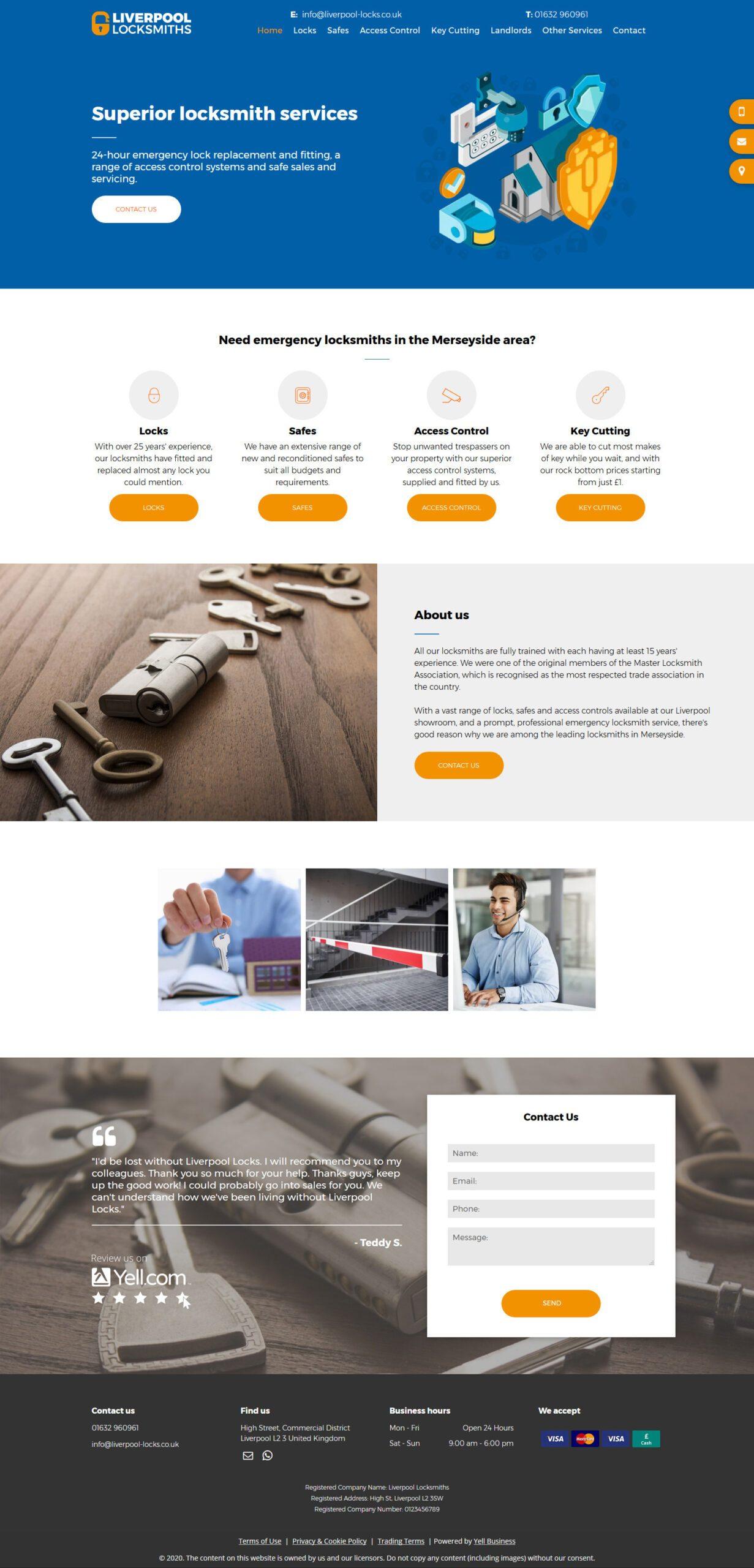 liverpool locks advanced website