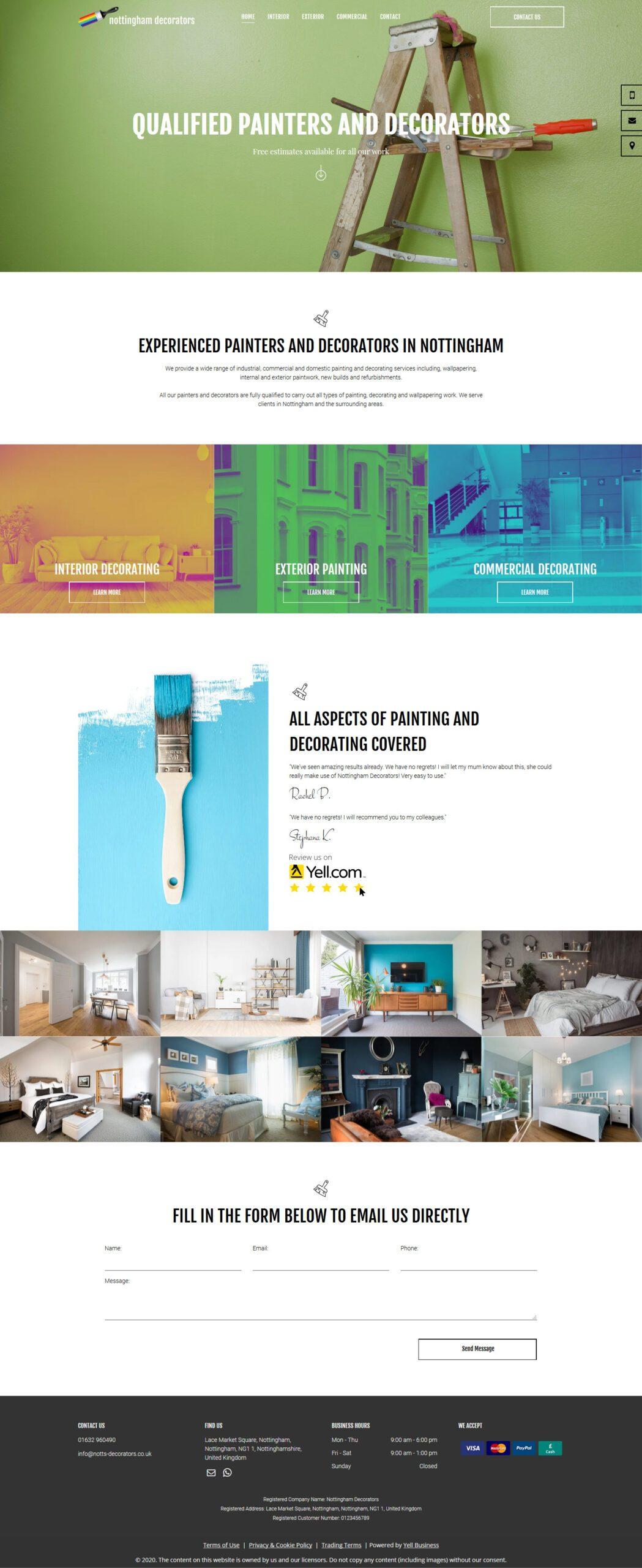 nottingham-decorators standard website