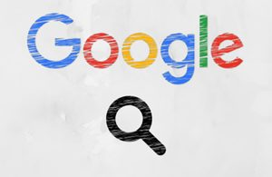 Image of Google logo with search icon