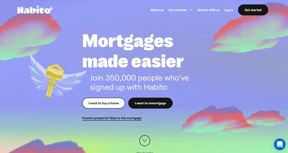 Habito homepage rebrand