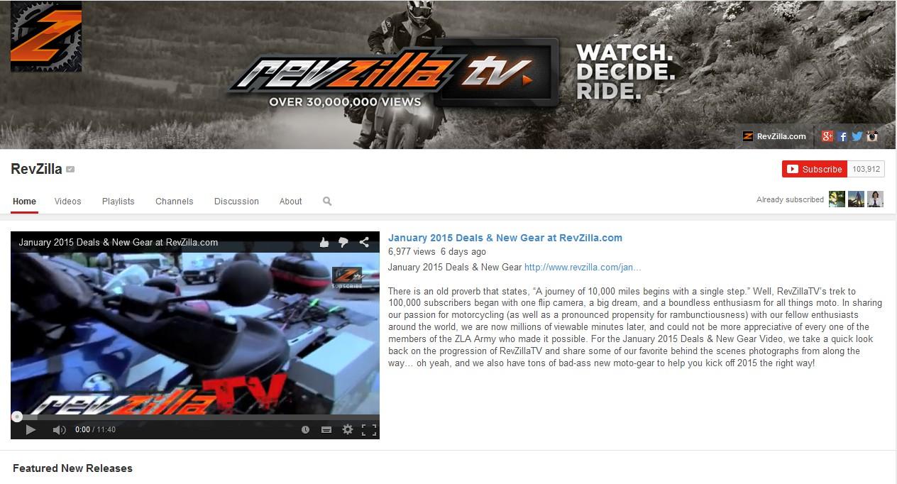 Revzilla screenshot