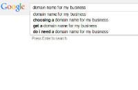 Image of Google search box