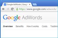 Google AdWords website page