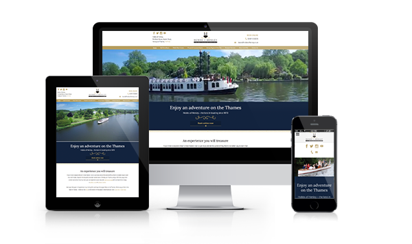 Responsive website hobbs across multiple devices