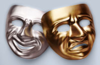 Image of comedy masks
