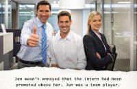 Image of corporate world meme