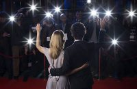 Image of celebrity couple on the red carpet