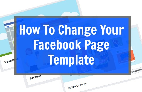 How To Change Your Facebook Page Template Yell Business - Facebook advertising template